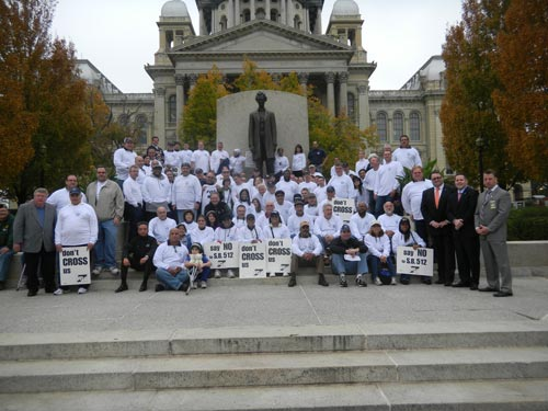 FOP Springfield Protest October 2011